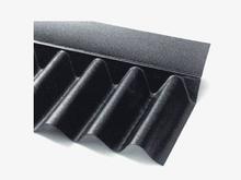 Bitumenwellplatte schwarz