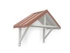 Holz- Vordächer
